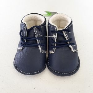 2/$15 NWT Carter's Navy Blue Crib Shoes 0-3 Months